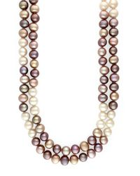 Effy | Multicolor Pearl Necklace | Lyst