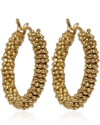 Annoushka - Metallic Gold Alchemy Hoop Earrings - Lyst