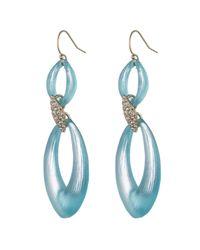 Alexis Bittar - Blue Vert D'Eau Marquis Drop Earring - Lyst
