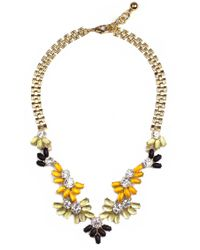Lulu Frost | Multicolor Lightray Necklace Yellow Multi | Lyst
