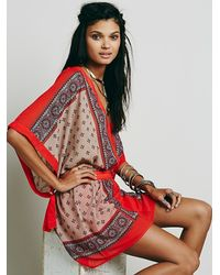 Free People - Multicolor Santa Cruz Dress - Lyst