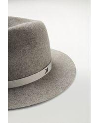 Rag & Bone | Gray Abbott Fedora | Lyst
