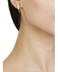 Virzi+de Luca | Metallic Gold Tone Birds Earrings | Lyst