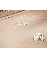Chloé - Green Pre-Owned Patent Madeleine Duffle Bag - Lyst