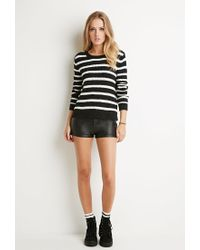 Forever 21 | Gray Textured Stripe Sweater | Lyst