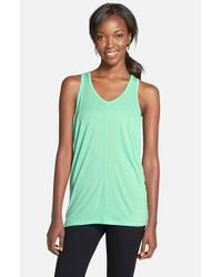 Karma | Green 'peggy' Racerback Tank Top | Lyst