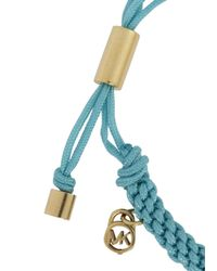 Michael Kors | Blue Turquoise Woven Friendship Bracelet | Lyst