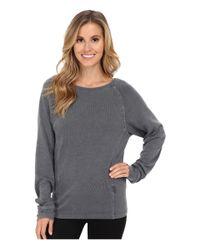 UGG | Gray Enid Raglan Sleeve Pullover | Lyst