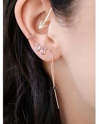 Free People | Metallic Rose Gold Delicate Septum Cuff | Lyst