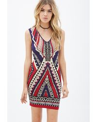 b16be323f5 Forever 21. Women s Southwestern-patterned Bodycon Dress You ve Been Added  To The Waitlist