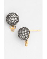 Freida Rothman - Black 'metropolitan' Stud Earrings - Lyst
