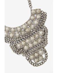 GOLDBARR - Metallic Corsica Necklace - Lyst