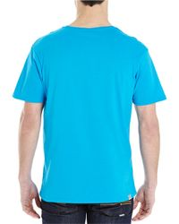 Bench | Blue Abstract Graphic Tee for Men | Lyst