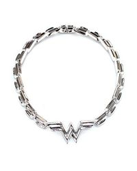 Noir Jewelry | Metallic Wonder Woman Dc Comics Statement Necklace | Lyst