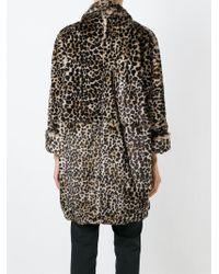 Gianluca Capannolo - Brown Leopard Print Coat - Lyst