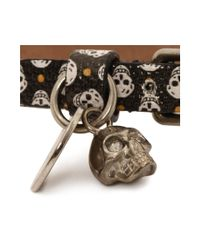 Alexander McQueen | Multicolor Single Wrap Skull Bracelet | Lyst