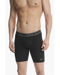 Nike | Black 'pro Combat Core Compression' Shorts for Men | Lyst