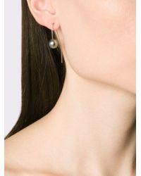 Pearls Before Swine - Metallic Tahitian Pearl Drop Earrings - Lyst