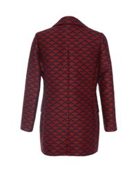 Mother Of Pearl | Red Jarvis Jacket | Lyst