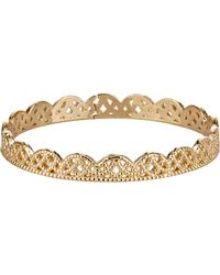 Grace Lee | Metallic Petite Lace Band-colorless | Lyst