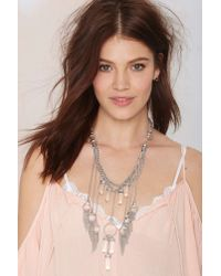 Nasty Gal - Metallic 8 Other Reasons Dream Catcher Necklace - Lyst