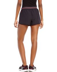 Under Armour - Black & Pink Perfect Pace Shorts for Men - Lyst