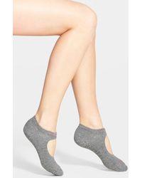 Calvin Klein | Gray Pilates Liner Socks | Lyst