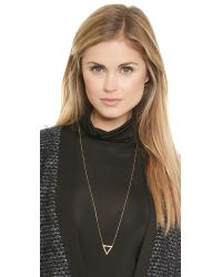 Maria Black - Metallic Vixen Necklace - Gold - Lyst