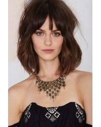 Nasty Gal | Metallic Imperial Chain Necklace | Lyst