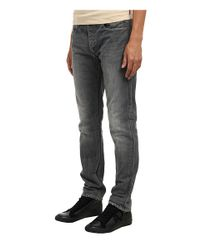 Armani Jeans - Gray Slim Fit Righthand Twill Cotton for Men - Lyst