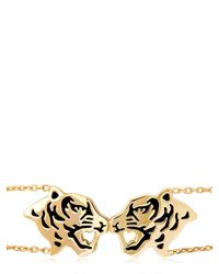 KENZO - Metallic Tassel Tiger Bracelet - Lyst