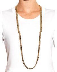Max Mara - Metallic Candore Necklace - Lyst
