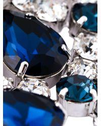 DSquared² - Blue Embellished Bracelet - Lyst