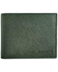 Jack Spade | Green Barrow Leather Slim Billfold for Men | Lyst