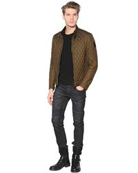 Belstaff | Green Bramley Quilted Nylon Jacket for Men | Lyst