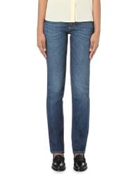 Closed | Blue United Classic-fit Mid-rise Jeans | Lyst