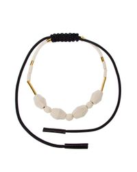 Marni | White Fabric Necklace | Lyst
