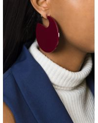 Marni | Pink Chunky Disk Earrings | Lyst
