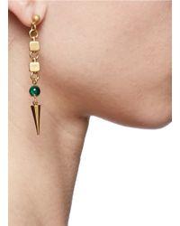 Ela Stone - Green Anouk Spike Drop Earrings - Lyst