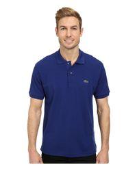 Lacoste - Blue L1212 Classic Pique Polo Shirt for Men - Lyst