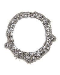 Mignonne Gavigan | Gray Alice Necklace Grey Wool | Lyst