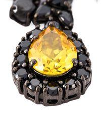Iosselliani | 'black On Black Memento' Necklace | Lyst