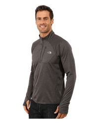 The North Face | Black Impulse Active 1/4 Zip Pullover for Men | Lyst