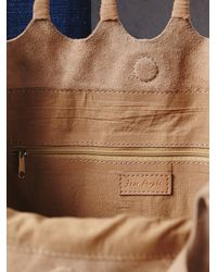 Free People | Brown Decades Suede Tote | Lyst