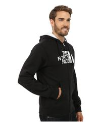 The North Face | Black Half Dome Full Zip Hoodie for Men | Lyst
