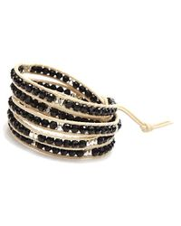 Nakamol | Multicolor Anthea Wrap Bracelet-black/white | Lyst