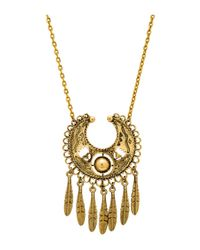 Vanessa Mooney | Metallic The Sage Necklace | Lyst