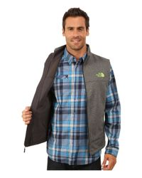 The North Face - Gray Canyonwall Vest for Men - Lyst