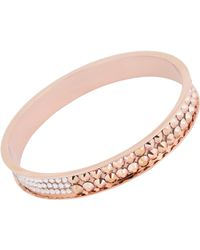 Chamak by Priya Kakkar - Pink Women's Multicolor Crystal-studded Bangle - Lyst
