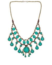 Natalie B. Jewelry - Green Casssidy Ii Necklace - Lyst